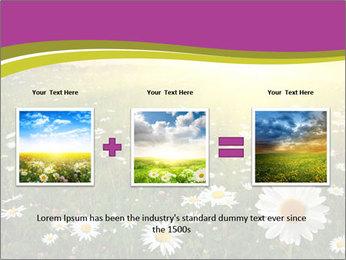 Flower field PowerPoint Template - Slide 22