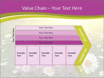 Flower field PowerPoint Template - Slide 27