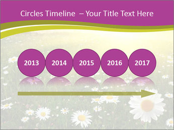 Flower field PowerPoint Template - Slide 29