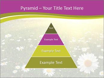 Flower field PowerPoint Template - Slide 30