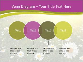 Flower field PowerPoint Template - Slide 32
