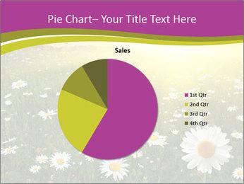 Flower field PowerPoint Template - Slide 36