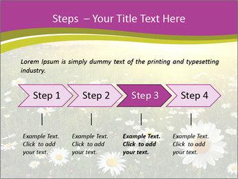 Flower field PowerPoint Template - Slide 4