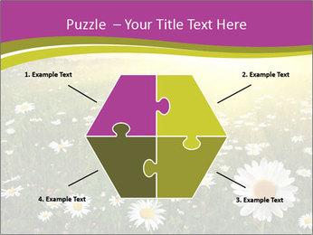 Flower field PowerPoint Template - Slide 40