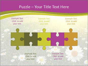 Flower field PowerPoint Template - Slide 41