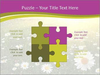 Flower field PowerPoint Template - Slide 43
