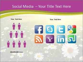 Flower field PowerPoint Template - Slide 5