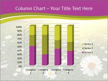 Flower field PowerPoint Template - Slide 50