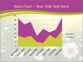 Flower field PowerPoint Template - Slide 53