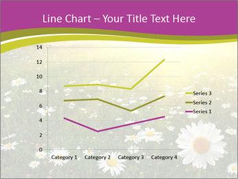 Flower field PowerPoint Template - Slide 54