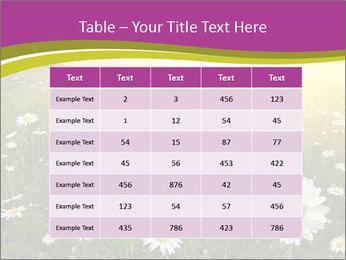 Flower field PowerPoint Template - Slide 55