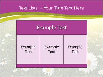 Flower field PowerPoint Template - Slide 59