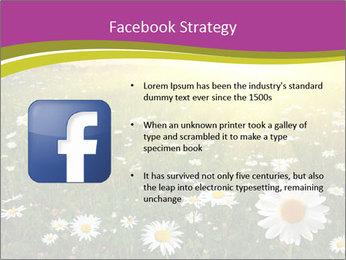 Flower field PowerPoint Template - Slide 6