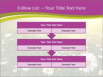 Flower field PowerPoint Template - Slide 60