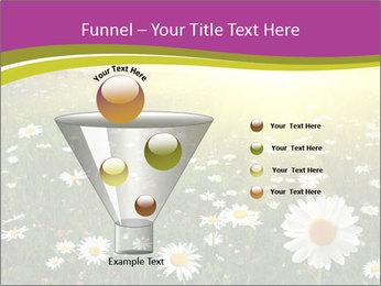Flower field PowerPoint Template - Slide 63