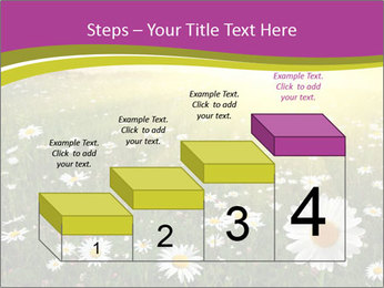 Flower field PowerPoint Template - Slide 64