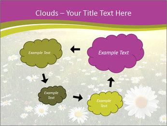 Flower field PowerPoint Template - Slide 72