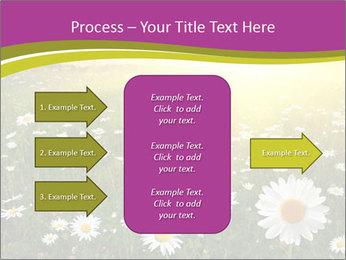 Flower field PowerPoint Template - Slide 85