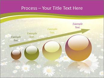 Flower field PowerPoint Template - Slide 87