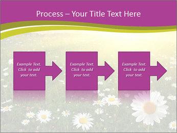 Flower field PowerPoint Template - Slide 88