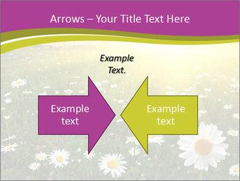 Flower field PowerPoint Template - Slide 90