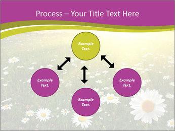 Flower field PowerPoint Template - Slide 91