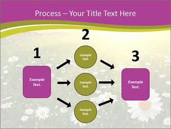 Flower field PowerPoint Template - Slide 92