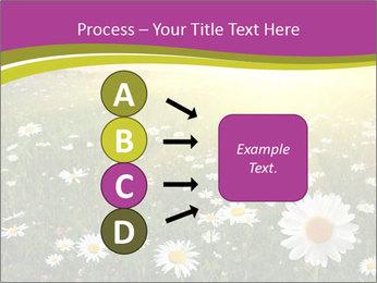 Flower field PowerPoint Template - Slide 94