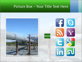 Alaska pipeline PowerPoint Template - Slide 21