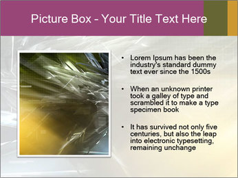 Futuristic hi-tech PowerPoint Template - Slide 13
