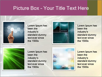 Futuristic hi-tech PowerPoint Template - Slide 14