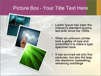 Futuristic hi-tech PowerPoint Template - Slide 17