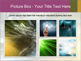 Futuristic hi-tech PowerPoint Template - Slide 19