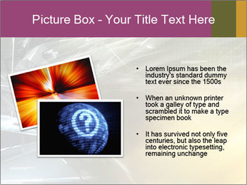 Futuristic hi-tech PowerPoint Template - Slide 20