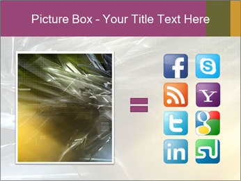 Futuristic hi-tech PowerPoint Template - Slide 21