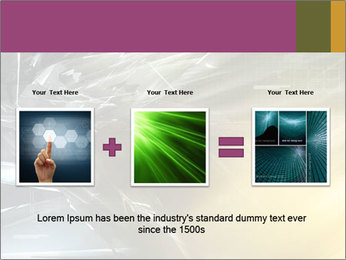 Futuristic hi-tech PowerPoint Template - Slide 22