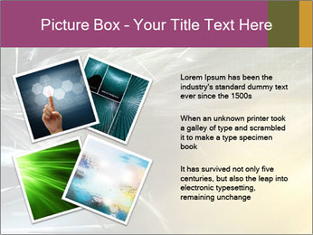 Futuristic hi-tech PowerPoint Template - Slide 23