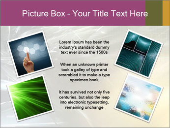 Futuristic hi-tech PowerPoint Template - Slide 24