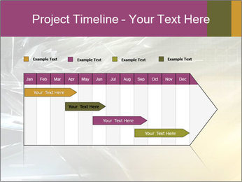 Futuristic hi-tech PowerPoint Template - Slide 25