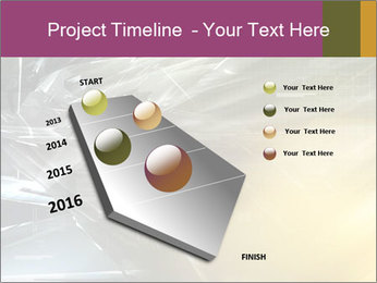 Futuristic hi-tech PowerPoint Template - Slide 26