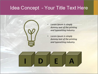 Futuristic hi-tech PowerPoint Template - Slide 80