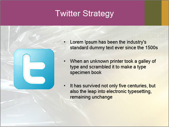 Futuristic hi-tech PowerPoint Template - Slide 9