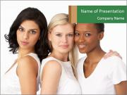 Young Women PowerPoint Templates
