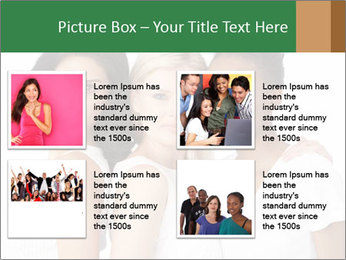 Young Women PowerPoint Template - Slide 14