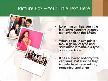 Young Women PowerPoint Template - Slide 17