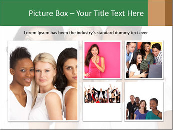 Young Women PowerPoint Template - Slide 19