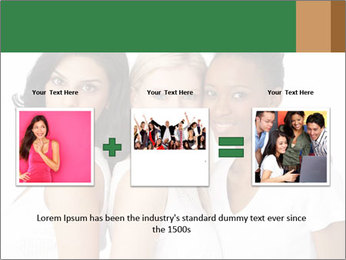 Young Women PowerPoint Template - Slide 22