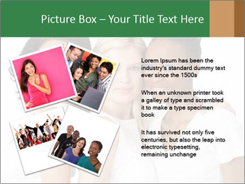 Young Women PowerPoint Template - Slide 23