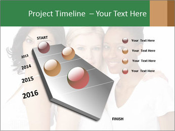 Young Women PowerPoint Template - Slide 26