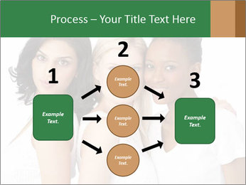 Young Women PowerPoint Template - Slide 92